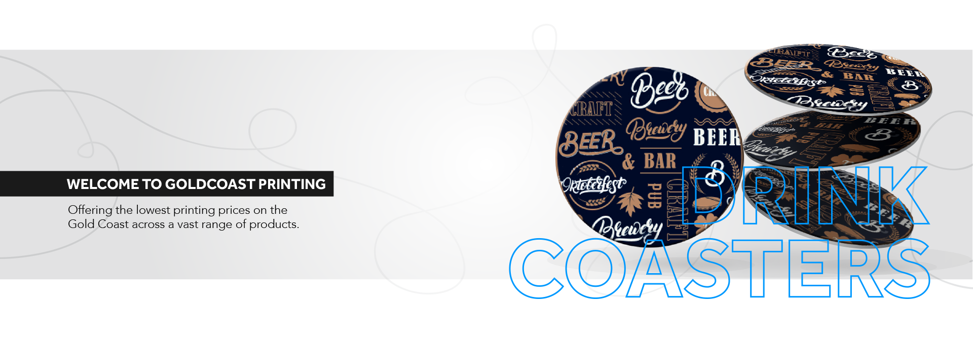 Banner Coasters